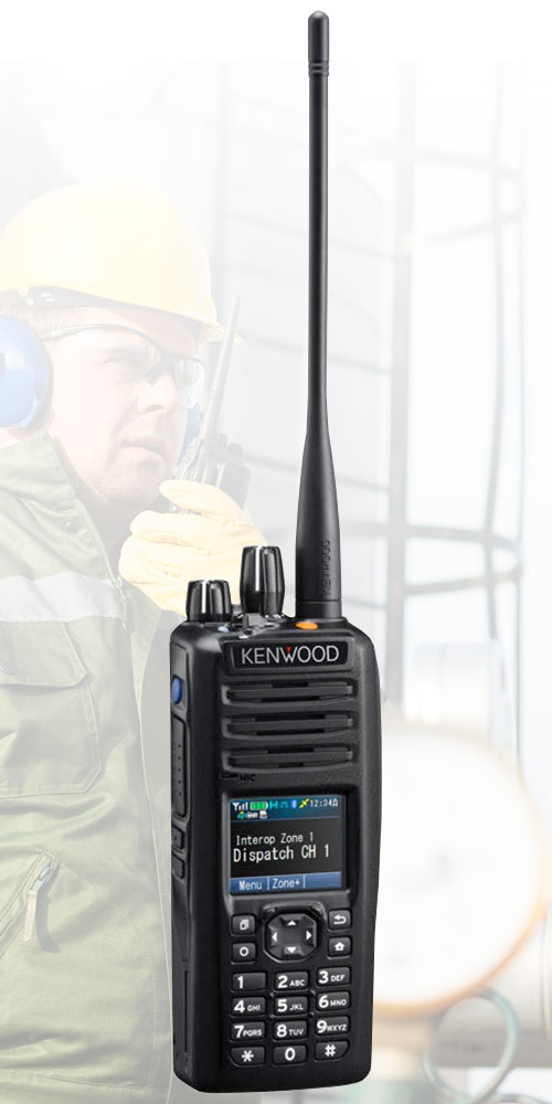 Portable two-way radio rentals